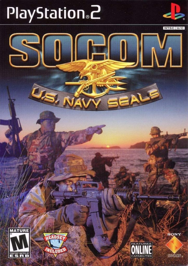 SOCOM US Navy SEALs Box Art